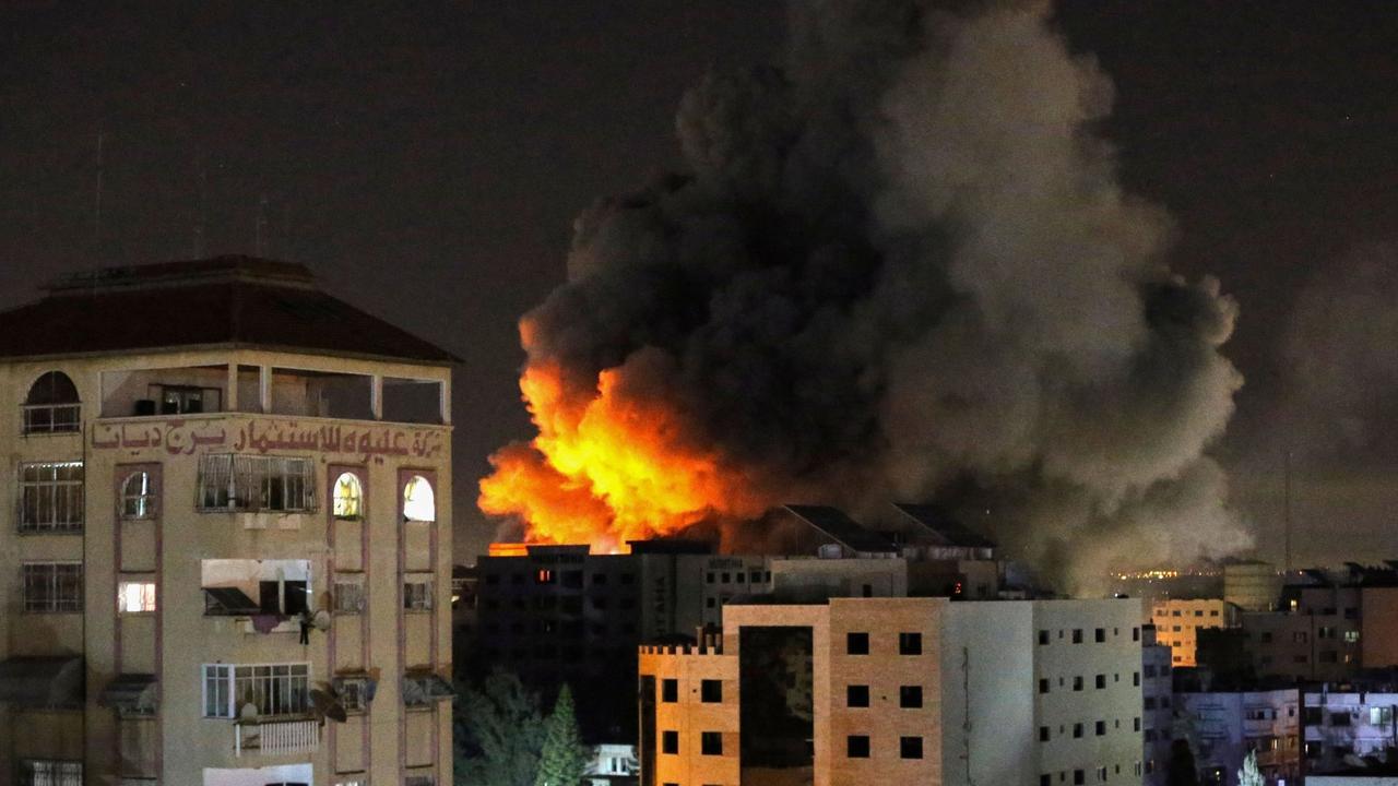 Death toll at 35 as Israel strikes hit buildings in Gaza
