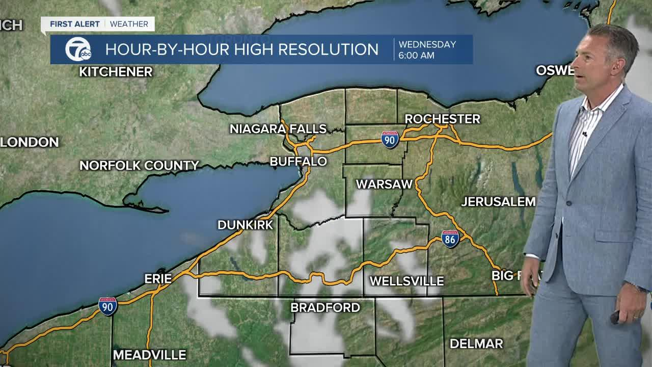 7 First Alert Forecast 5am Update, Wednesday, May 12