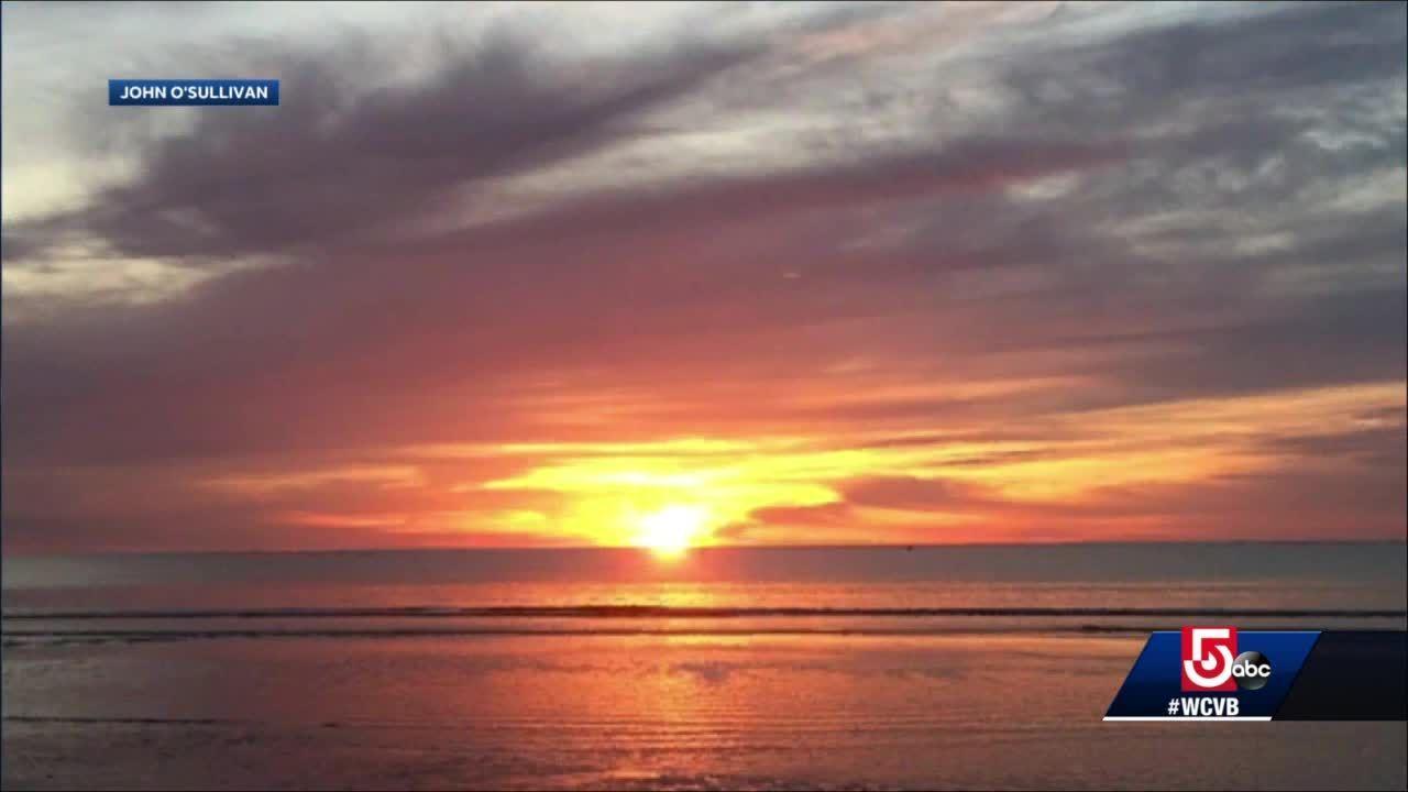 Wake Up Call: Sunny days mean gorgeous sunrises