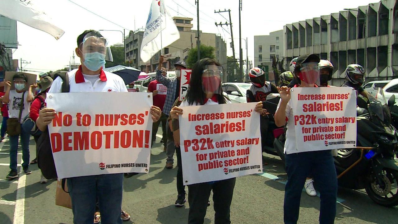 Philippines COVID: Nurses disproportionately succumb to virus