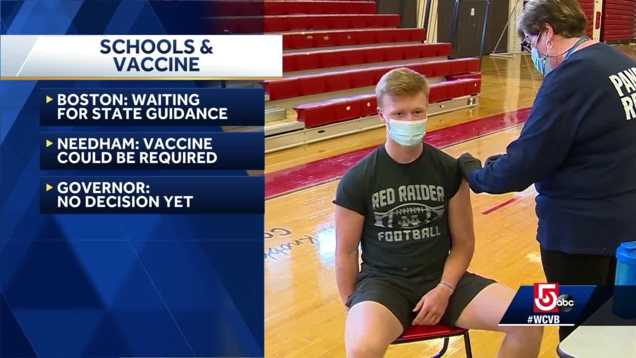 Debate in schools over COVID-19 vaccine for kids continues