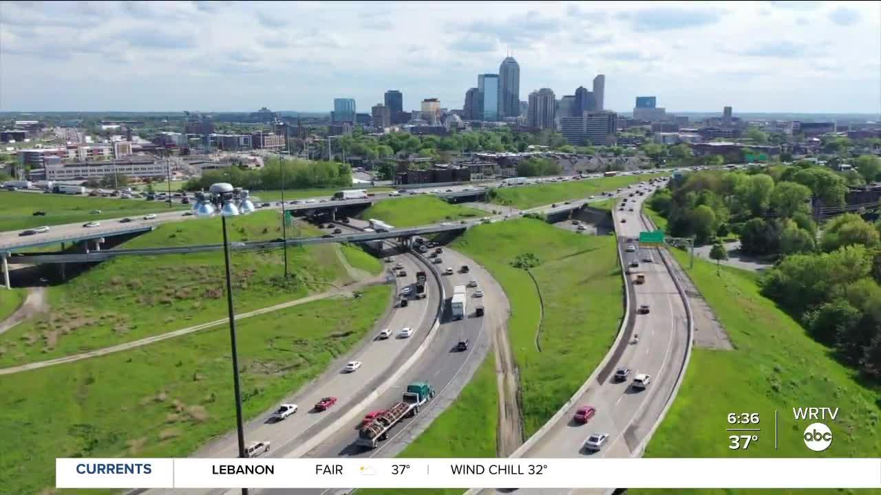 North Split Closure: Detours to get around Indy and into downtown