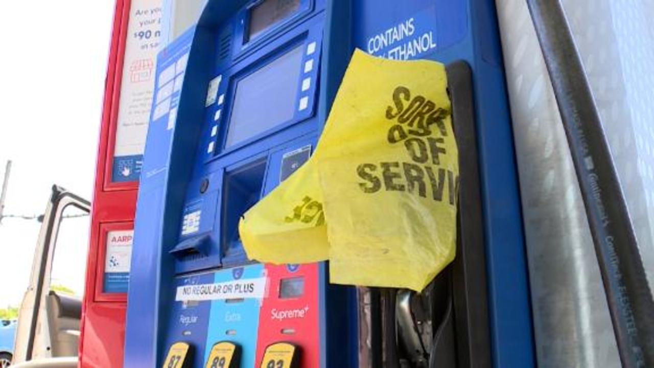 Panic buying is emptying gas pumps across the Southeast