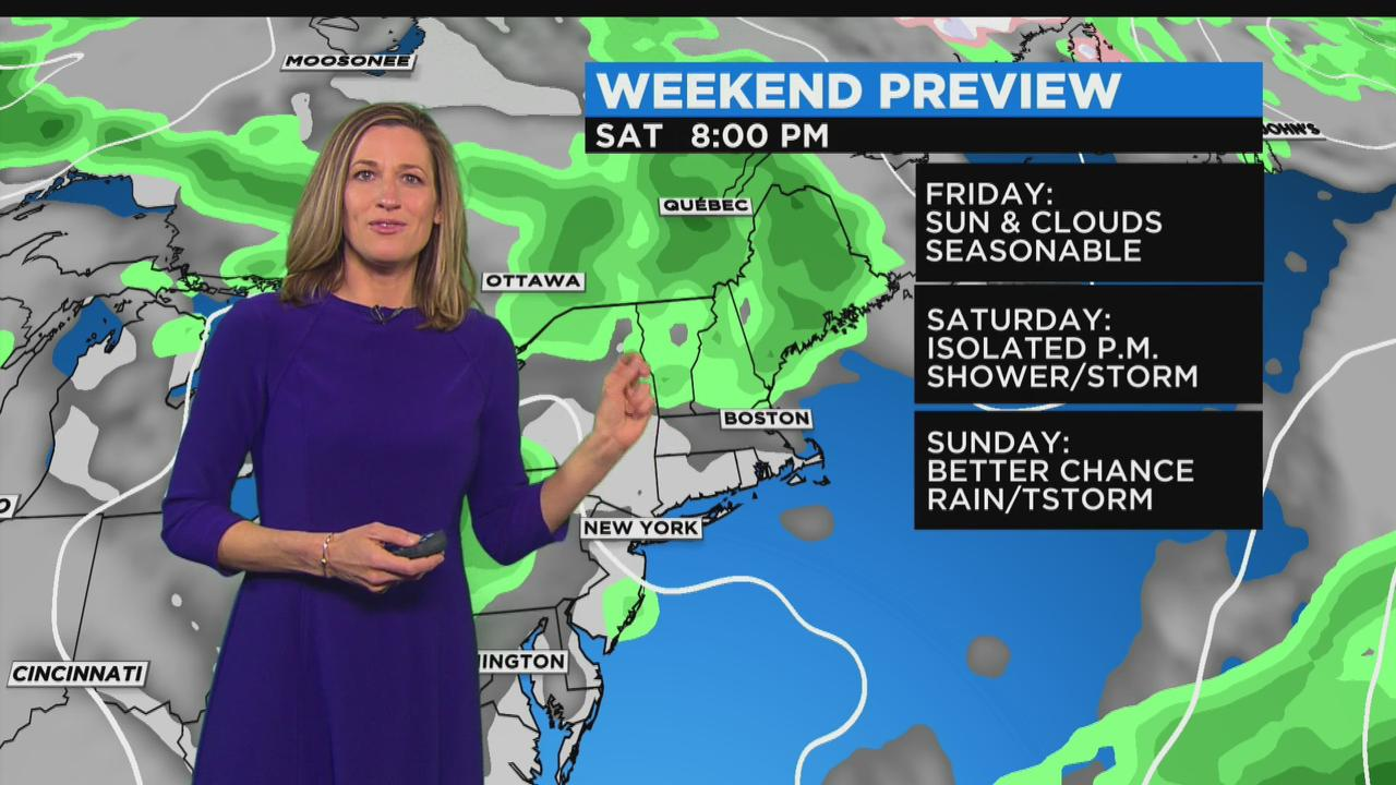 WBZ Midday Forecast For May 12