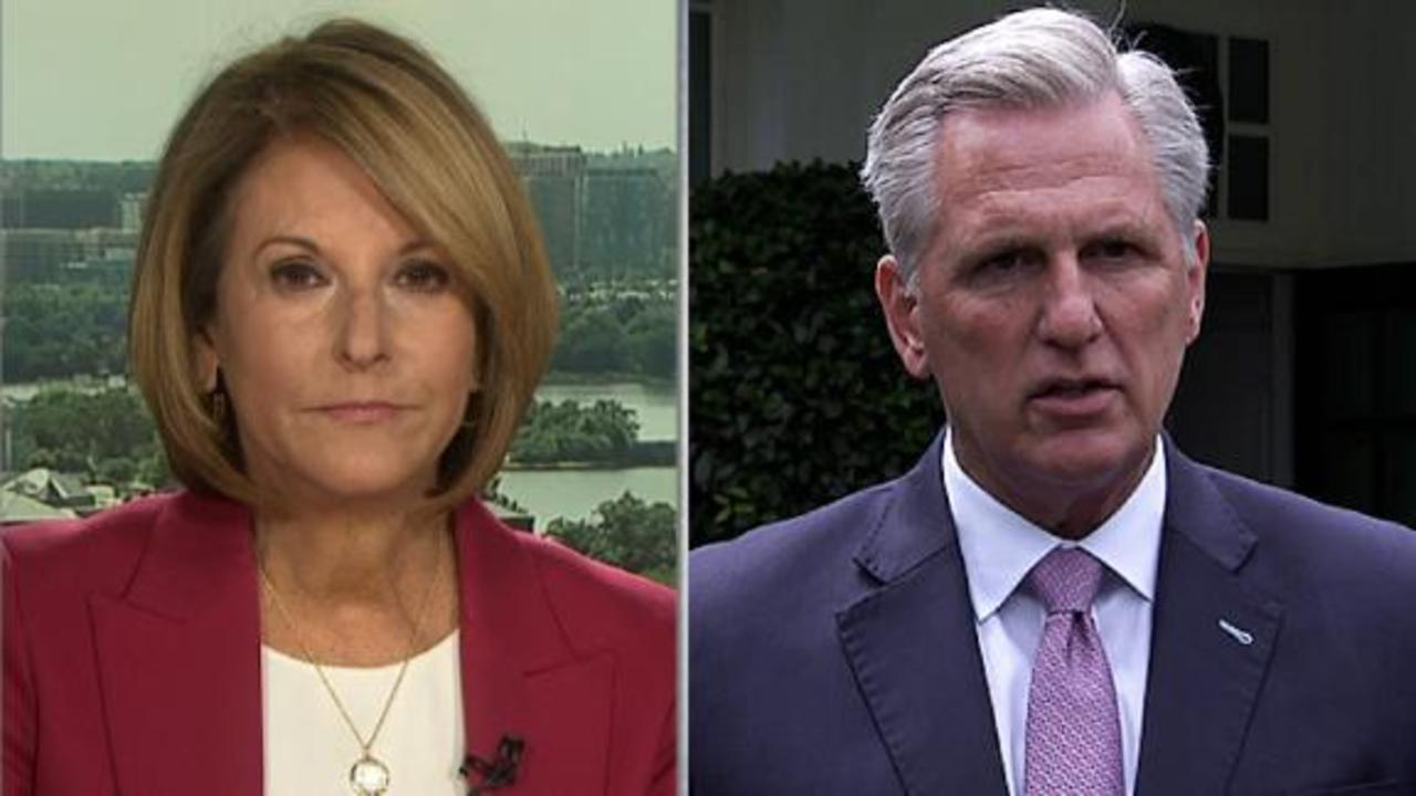 Borger: McCarthy is trying to turn the page on Cheney disaster