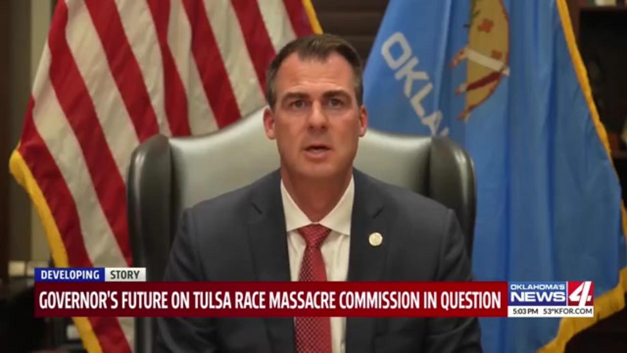 Tulsa Race Massacre Commission: Oklahoma Gov. signing critical race theory bill shows 'desire to end your affiliation'