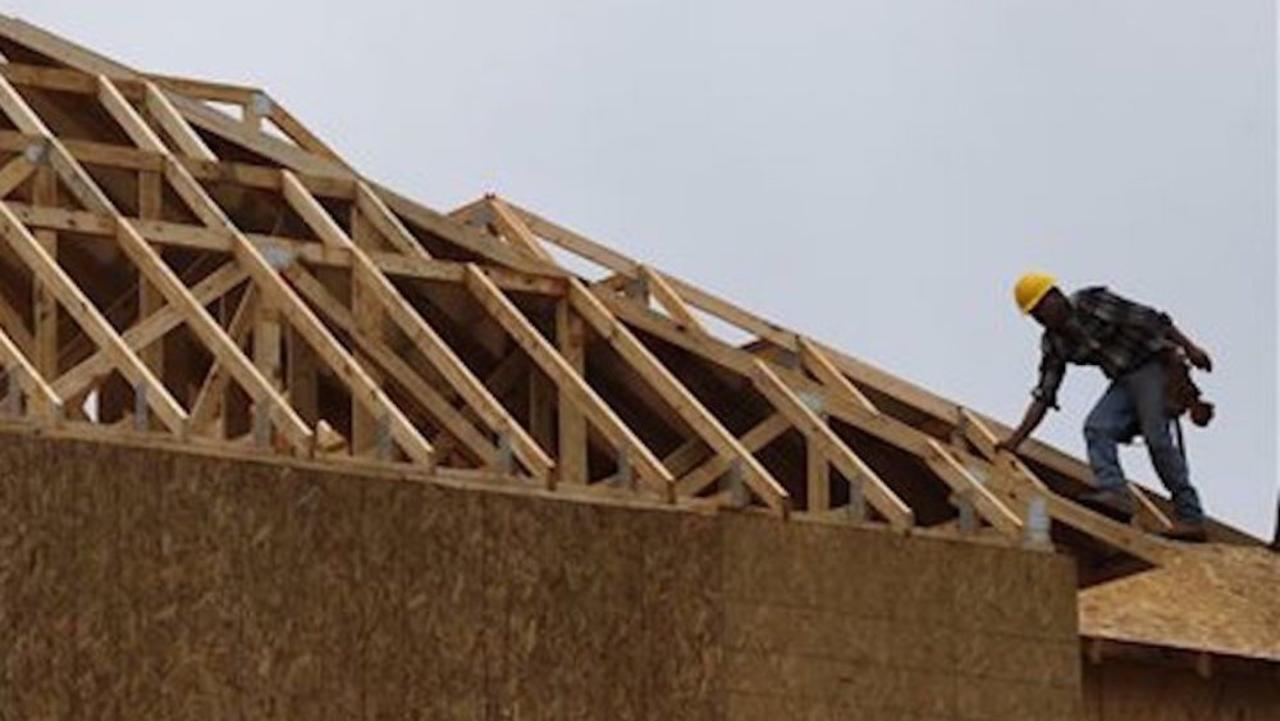 Lumber prices nearly four times higher than last year, hurting home builders & buyers