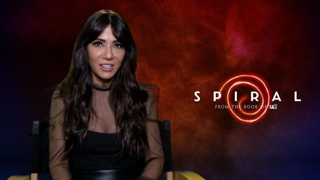 MARISOL NICHOLS, so proud of her Latina role in SPIRAL