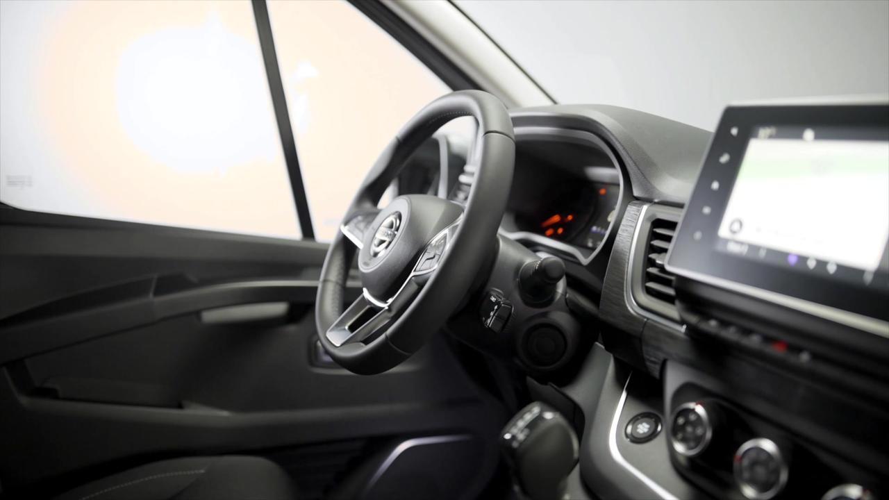 New Nissan NV300 Interior Details