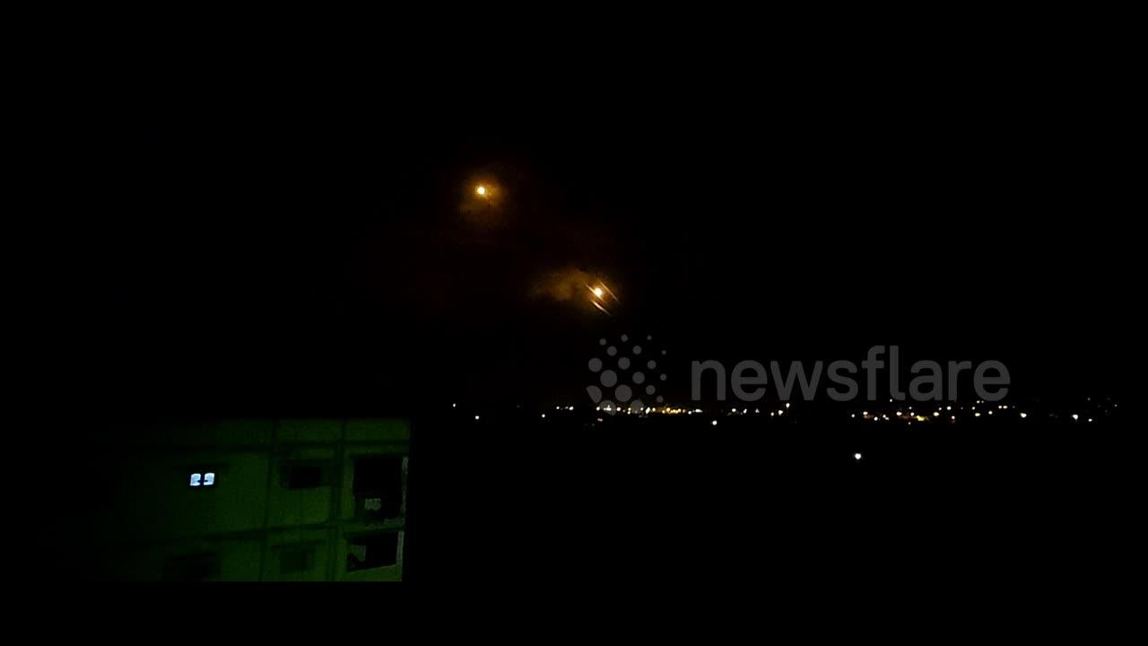 Rockets launched from Gaza intercepted by Israel's Iron Dome, some reach Tel Aviv
