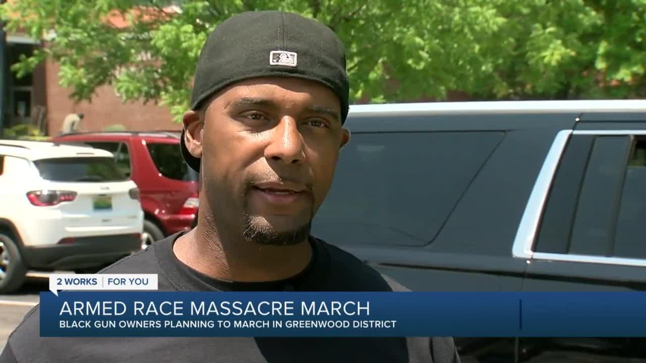 Armed march planned during Tulsa race massacre centennial