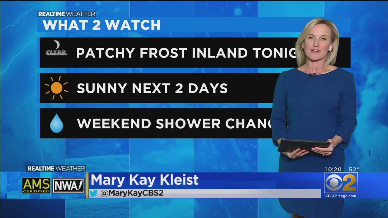 Chicago Weather: Patchy Frost Inland Wednesday Night