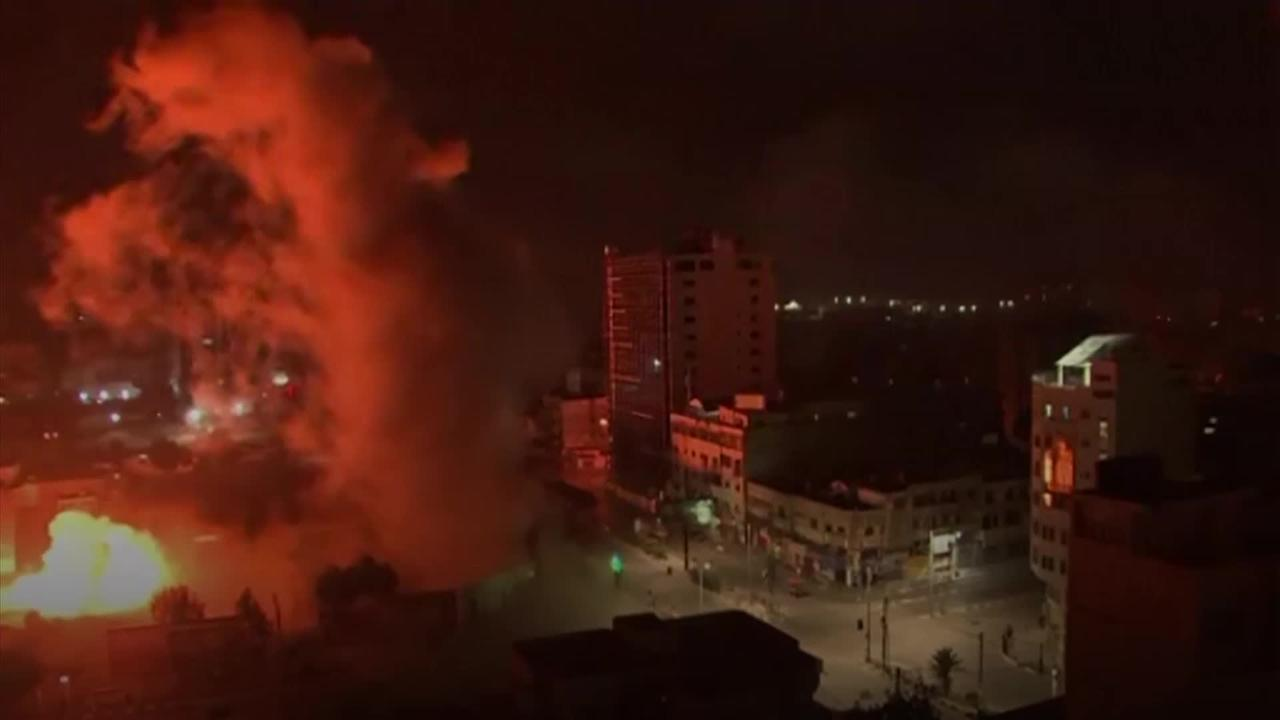 Israel steps up offensive against Gaza