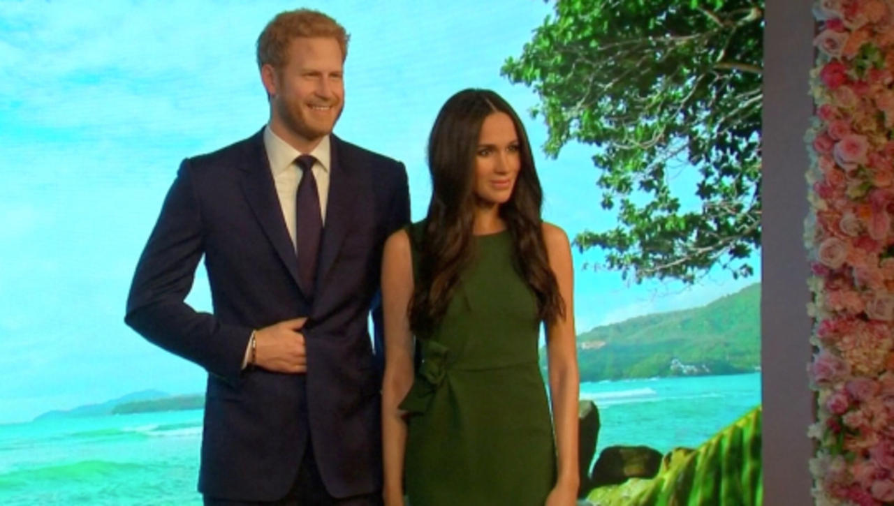 Prince Harry and Meghan Markle's Wax Replicas Find a New Home With the Stars