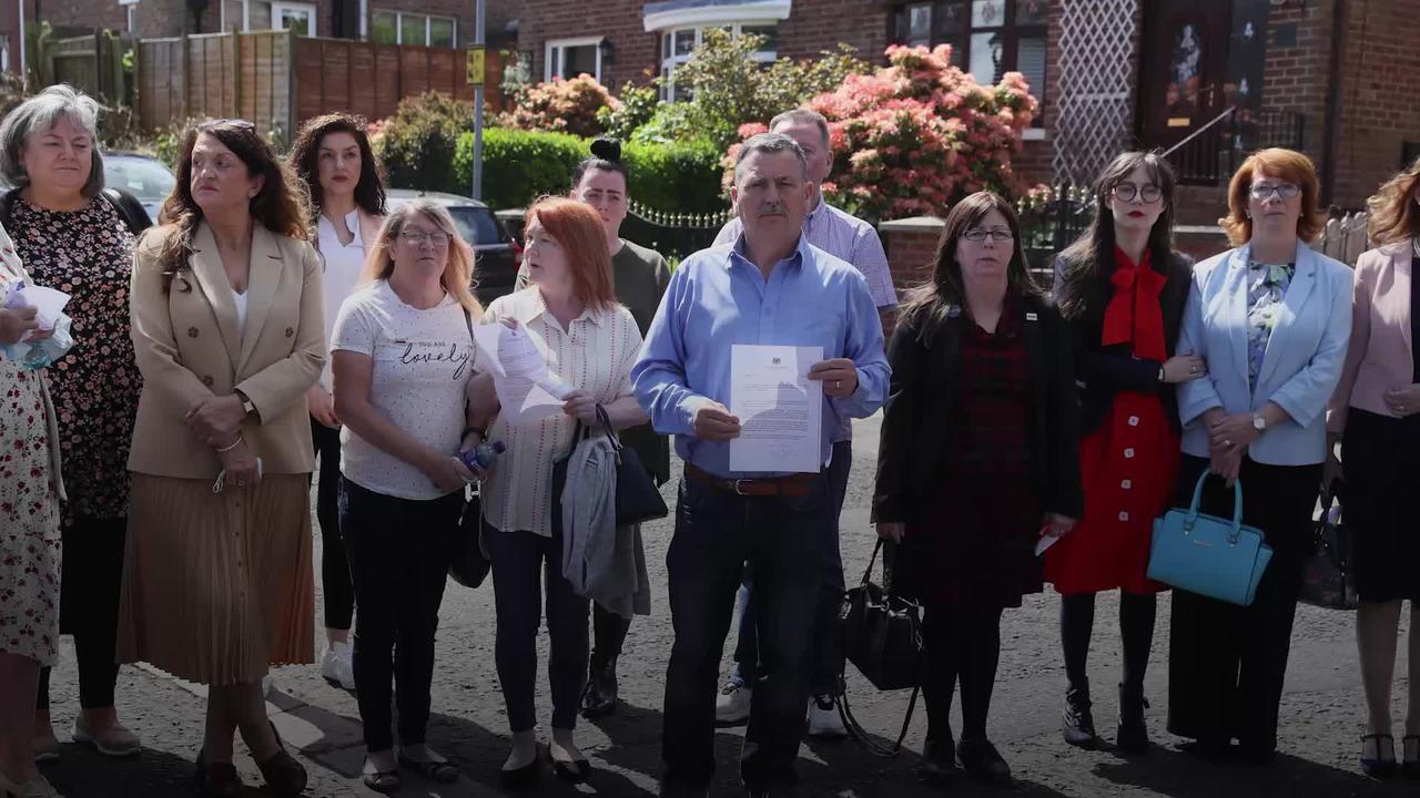 Ballymurphy families angry at Boris Johnson apology