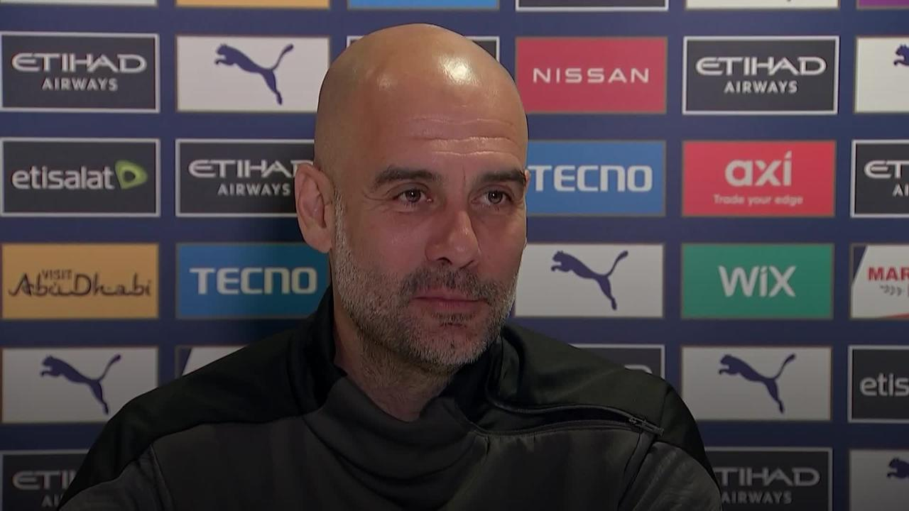 Pep Guardiola pays tribute to Jurgen Klopp after Manchester City's title triumph