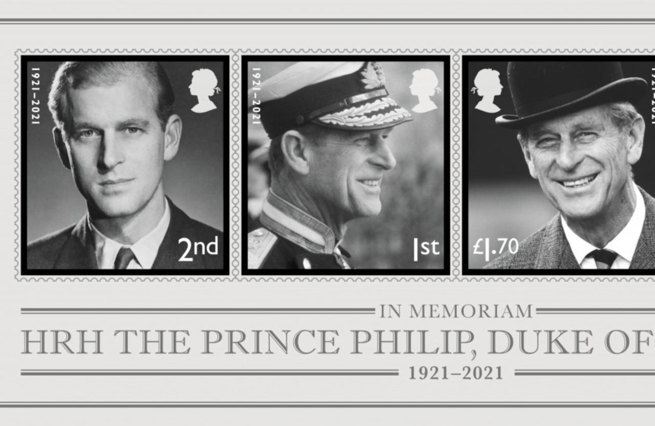 The late Prince Philip honoured with new stamp collection