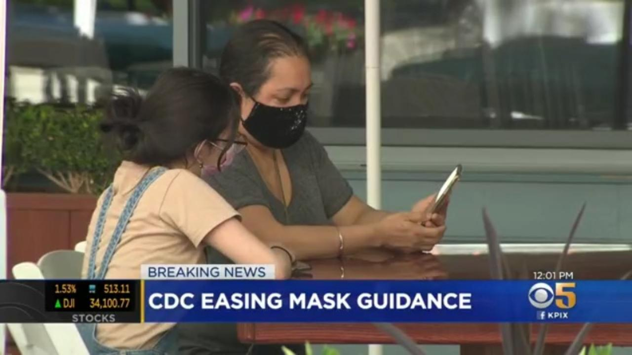 CDC: Vaccinated People Can Go Without Masks In Most Indoor Settings