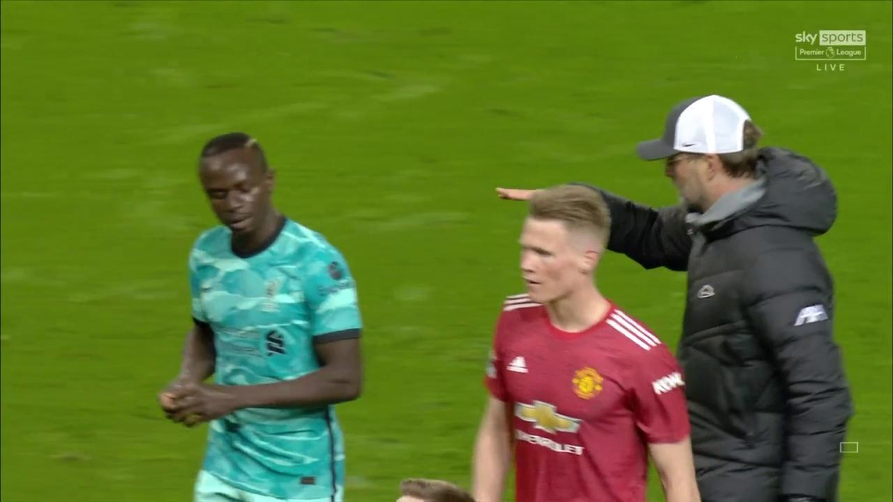 Klopp explains Mane's handshake snub