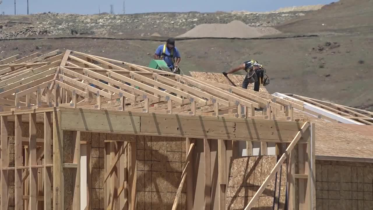Lumber prices hit new highs as builders try to meet increasing housing demands in the Treasure Valley
