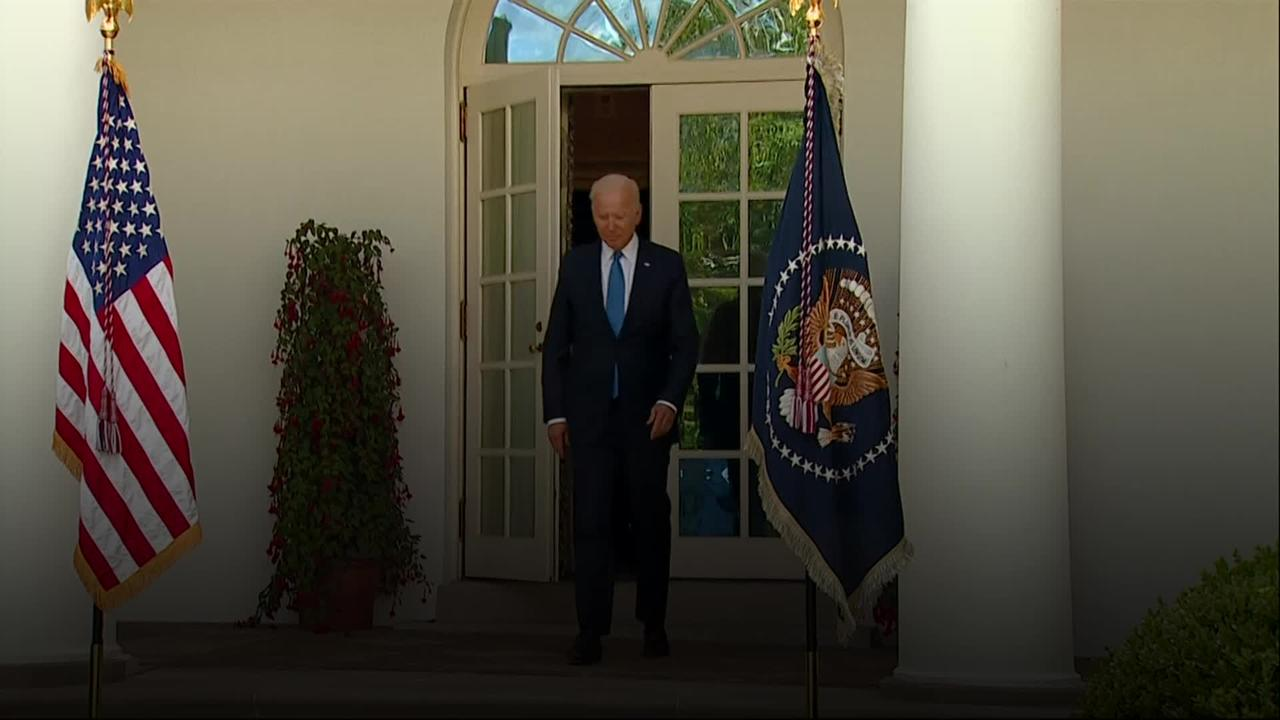 Biden hails 'great day for America' as mask-wearing guidance eased