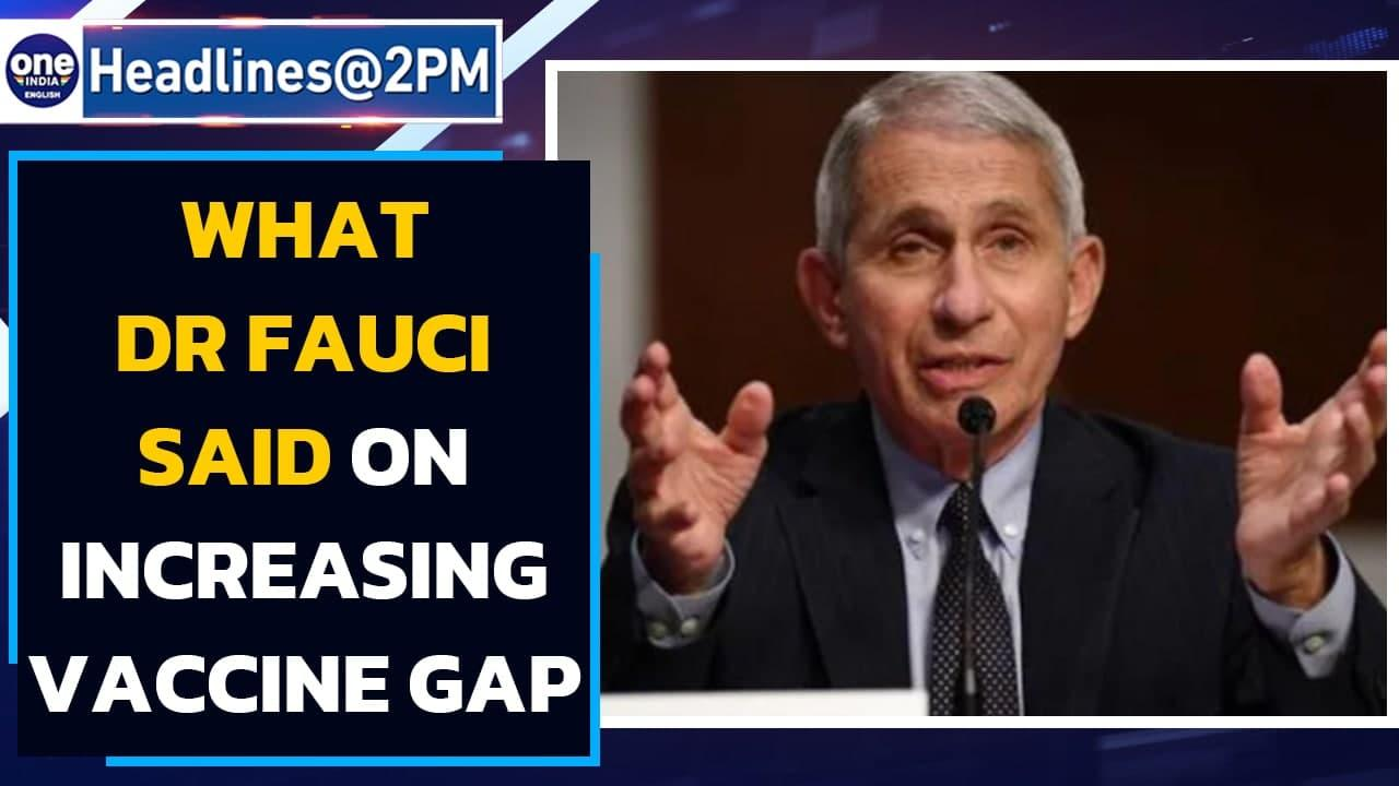 Dr Fauci said this on increasing gap between Covishield doses   Oneindia News