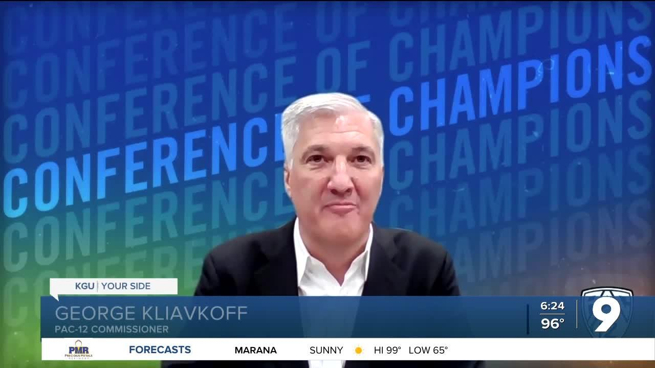 George Kliavkoff is the new Pac-12 Commissioner