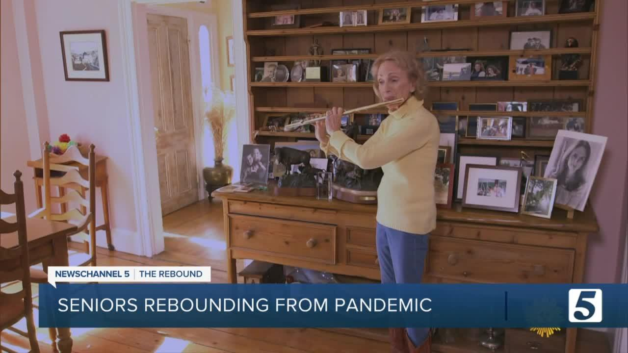 Seniors face anxiety while returning to a pre-pandemic normalcy