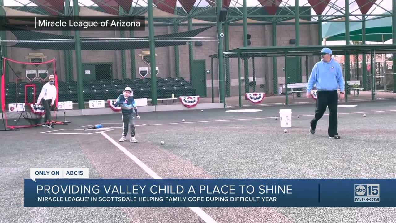 'Miracle League' in Scottsdale helping family cope during difficult year