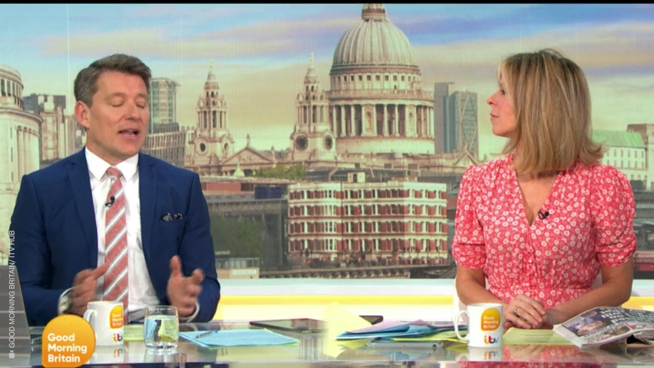Ben Shephard criticises new parent Harry's attack on his dad Charles