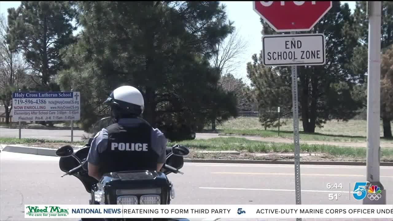 Colorado Springs officers and crossing guards concerned about dangerous behavior in school zones