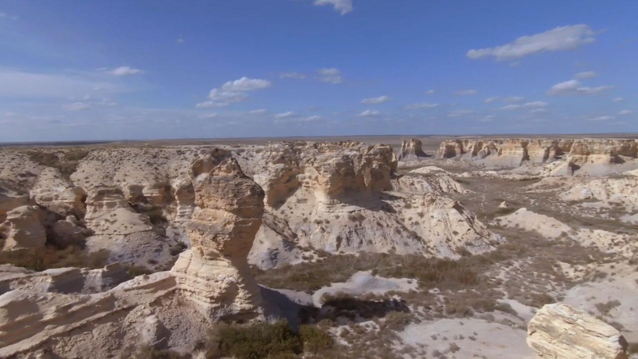 Explore Outdoors: Little Jerusalem Badlands State Park rivals national parks with scenery, wildlife