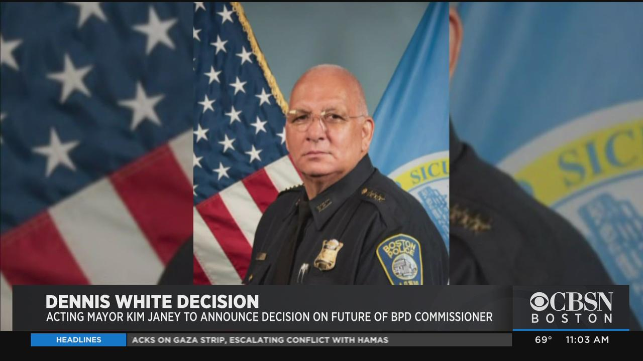 Mayor Janey To Announce Decision On Future Of Boston Police Commissioner Dennis White