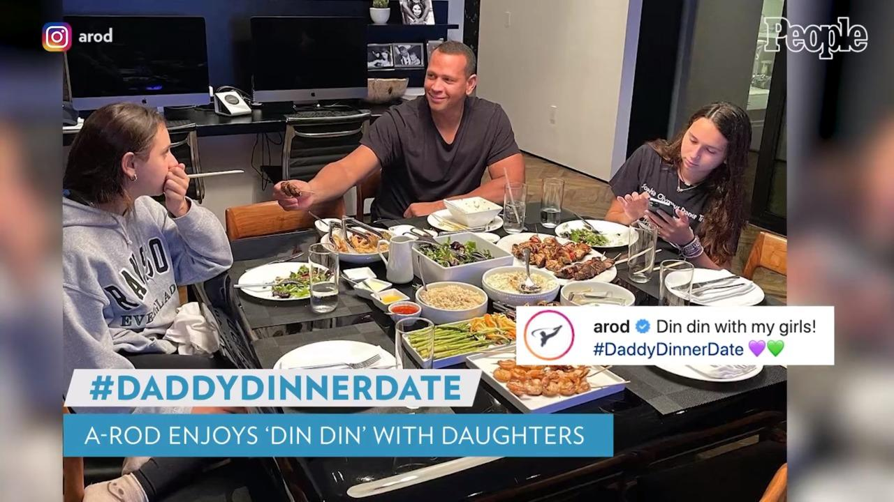 Alex Rodriguez Enjoys 'Dinner Date' with His Daughters After Jennifer Lopez Split: 'My Girls'