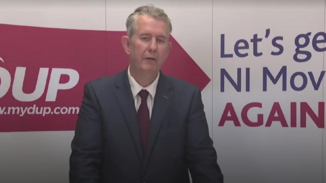 New DUP leader Edwin Poots vows to make party 'authentic voice' of unionism