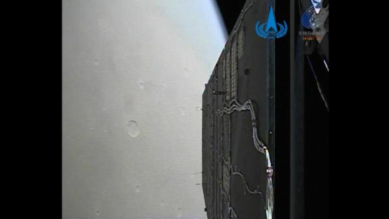Watch new footage taken from Mars' orbit