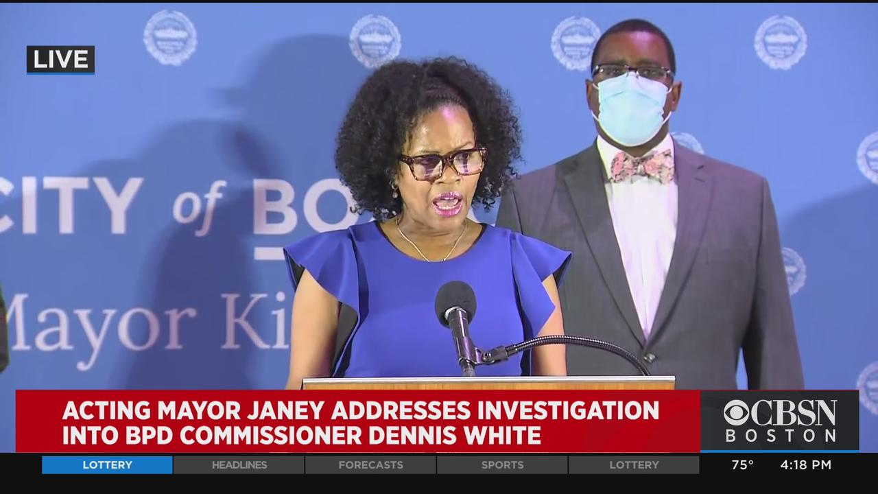 Mayor Janey: Investigation Into Former Police Commissioner Dennis White Reveals 'Culture of Fear And Silence' In BPD