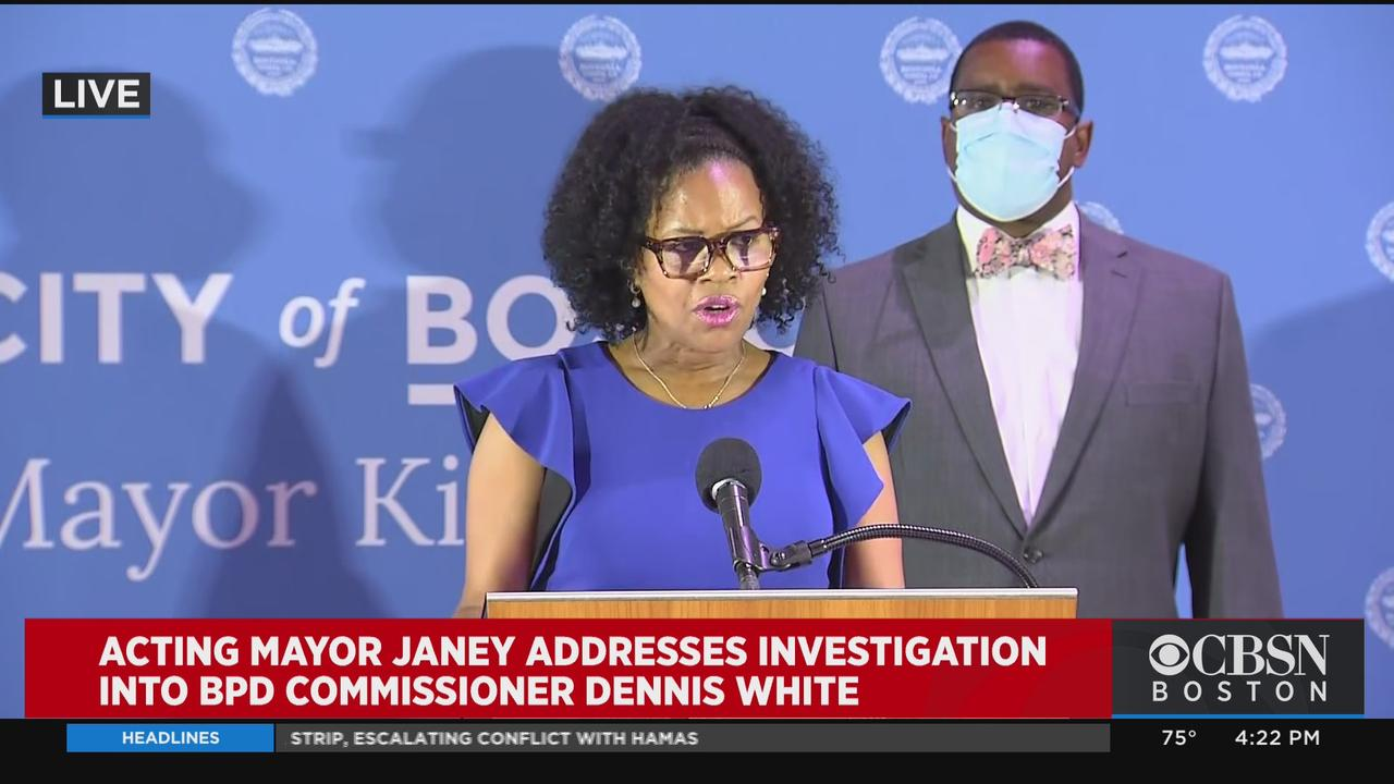 Leaders In Boston Police Department Will Be 'Subject To Vetting And Background Checks', Janey Says