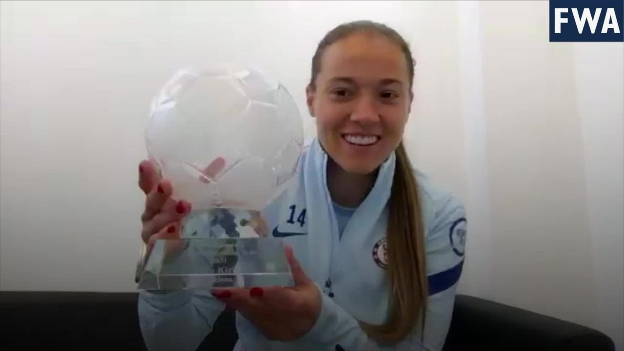 Chelsea forward Fran Kirby voted FWA Women's Footballer of the Year