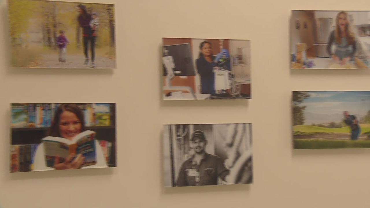Wall Of Photos Shows Health Care Heroes In A Different Light