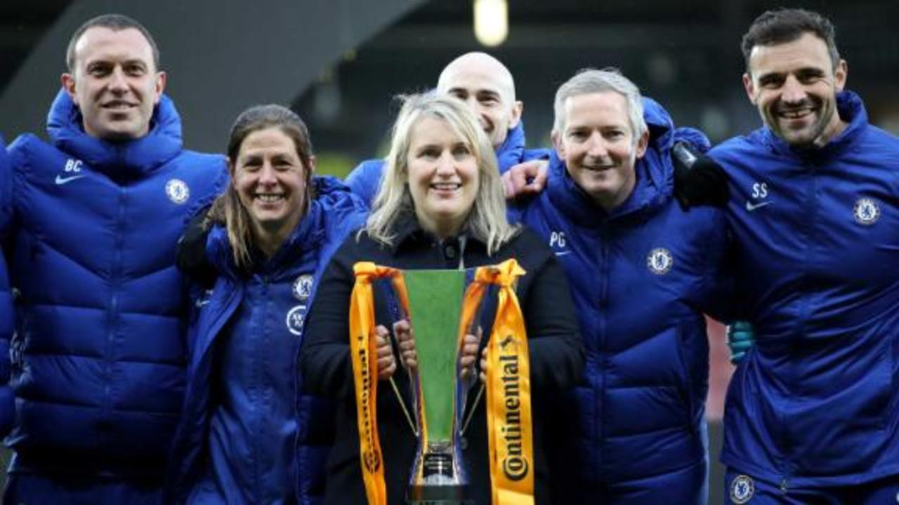 Chelsea boss Emma Hayes on the Women's UCL and inspiring the new generation of women footballers