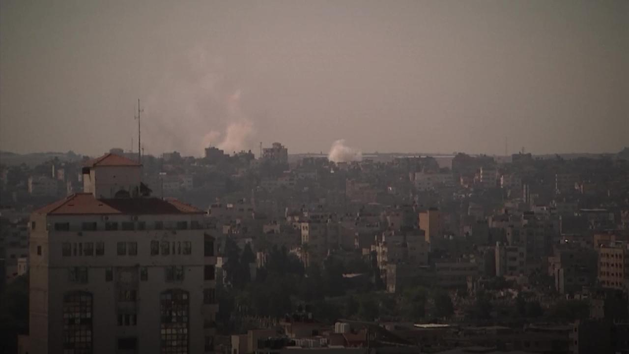 Israeli air strike on Gaza City kills 10 as unrest spreads to West Bank