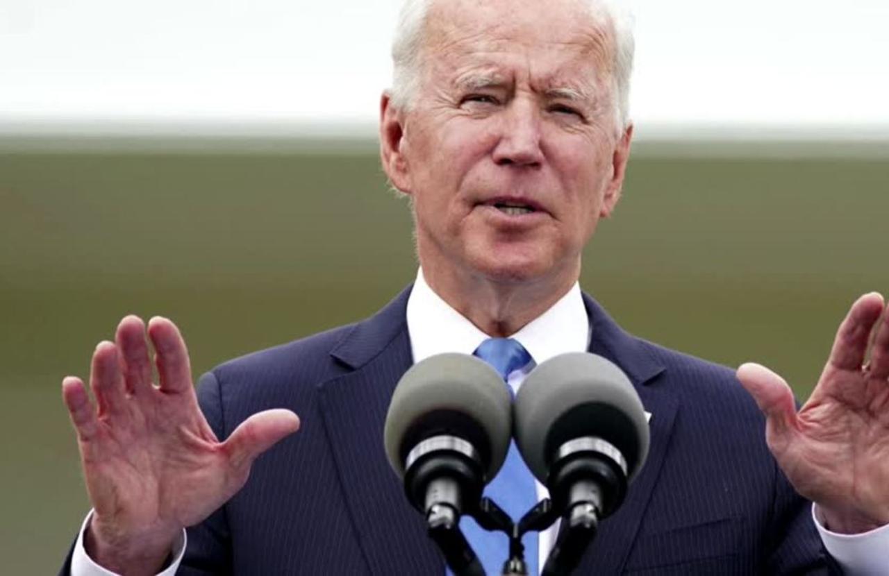 Biden urges calm in calls with Netanyahu and Abbas