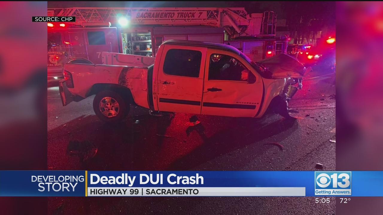 DUI Suspected In Highway 99 Crash That Killed Sacramento Man