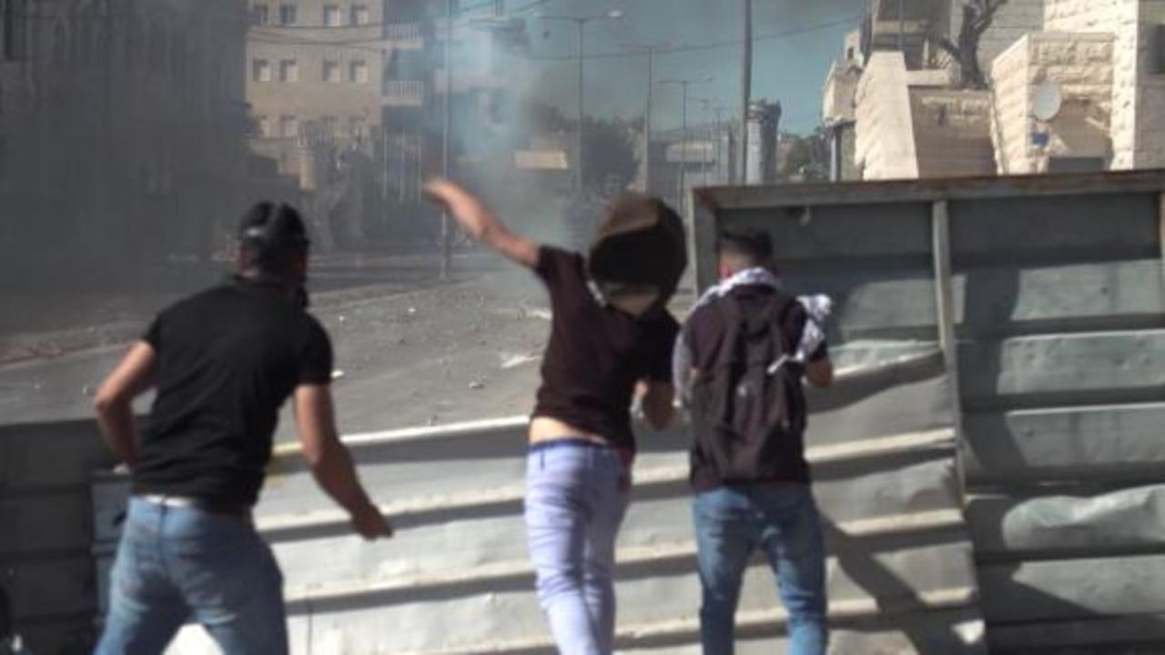 New generation of Palestinian and Israeli soldiers facing off in West Bank