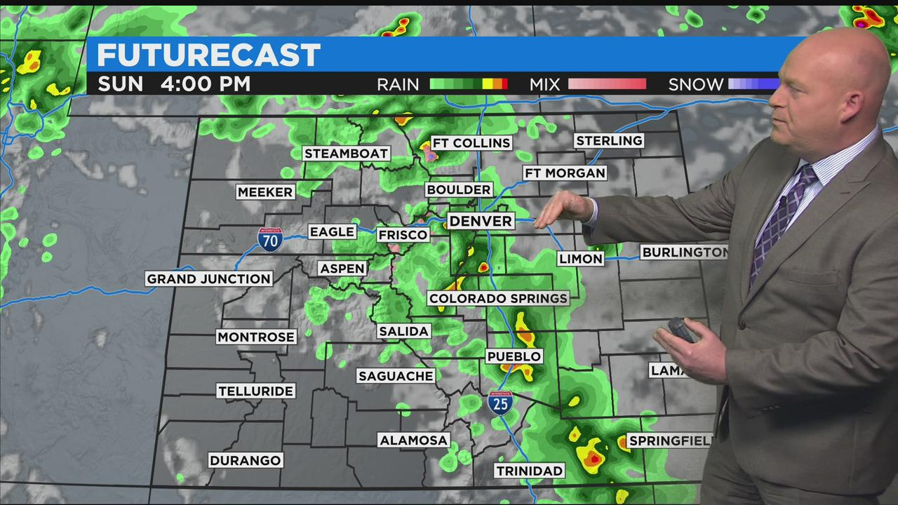 Ongoing Chance For Showers And Thunderstorms