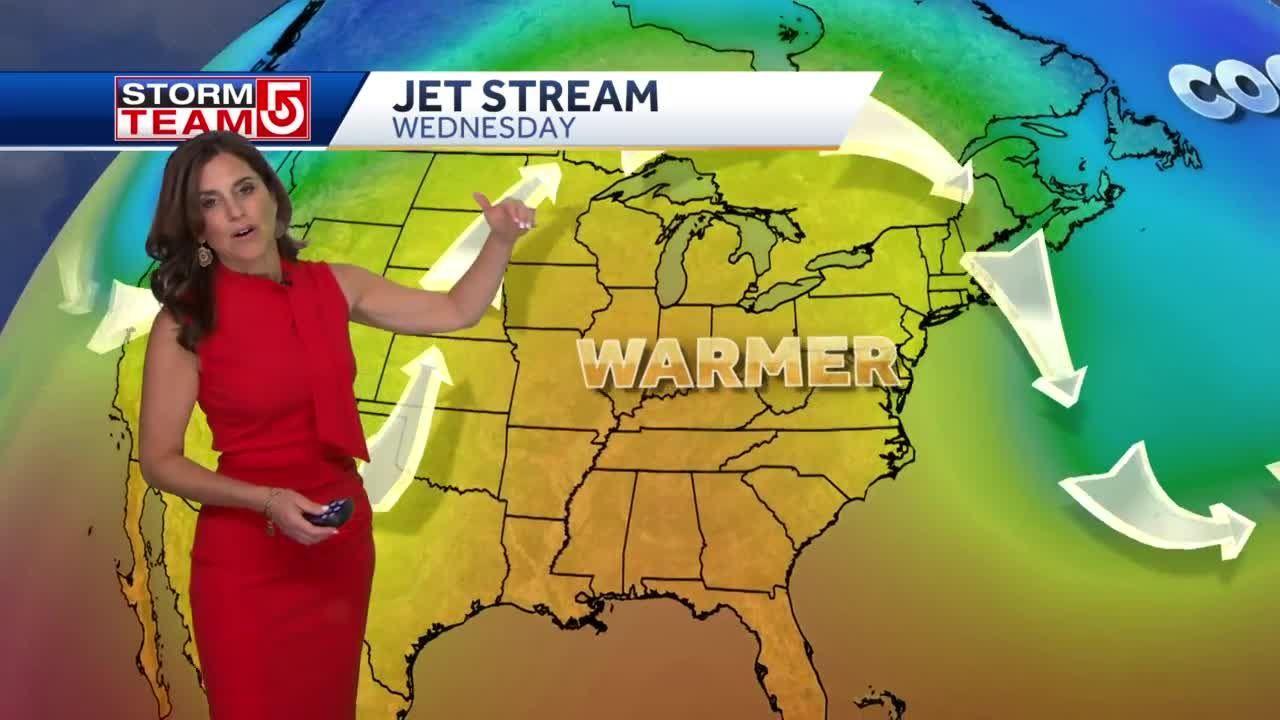 Video: Big midweek warmup ahead for Massachusetts