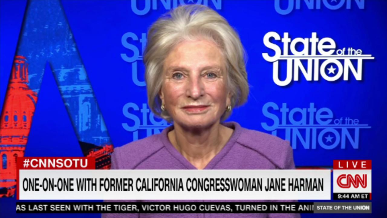 Fmr Rep. Jane Harman on the crisis in the Middle East