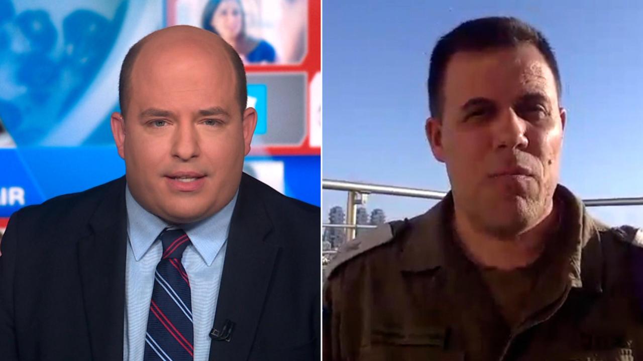 Watch Stelter press IDF spokesman on Gaza tower airstrike