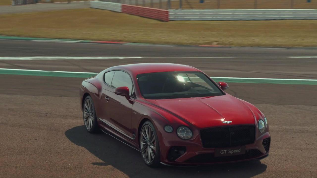 The new Bentley GT Speed Design Preview
